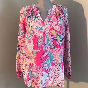 Lilly Pulitzer Multi Color Top